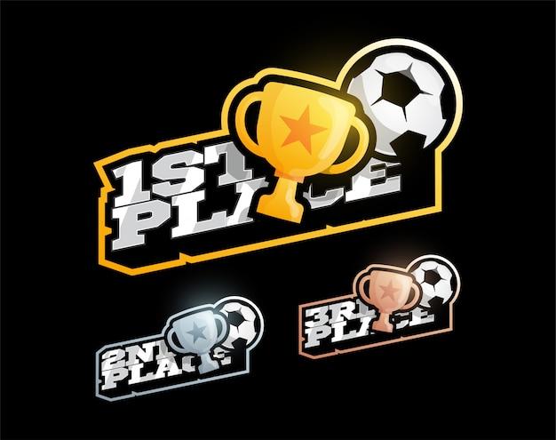 サッカーまたはサッカーの勝利競争