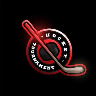 ホッケースポーツのロゴ。