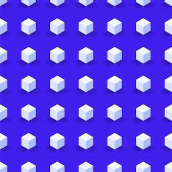 Шестиугольник бесшовные, абстрактный узор куба.