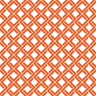 四角形のシームレスなパターン。ベクトル抽象的な背景。スタイリッシュなセル構造