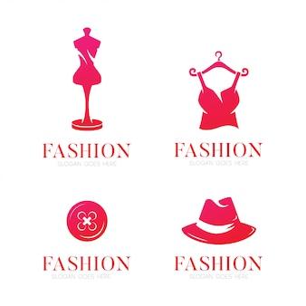 Модный логотип