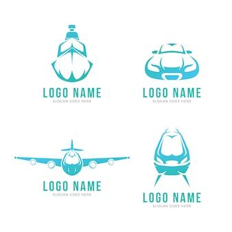 Современный транспортный логотип