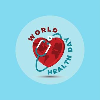 Всемирный день здоровья векторная иллюстрация