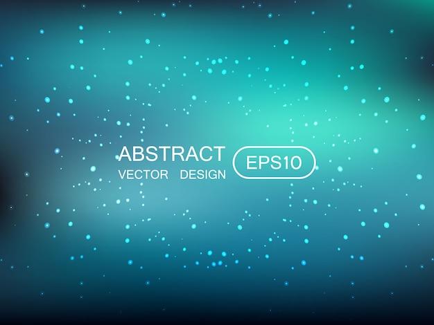 星で抽象的なぼかし多色の背景