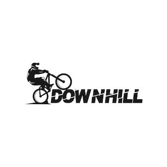 下り坂のロゴ