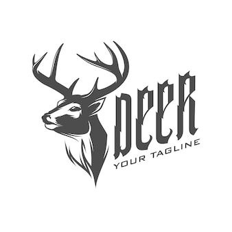 Олень логотип