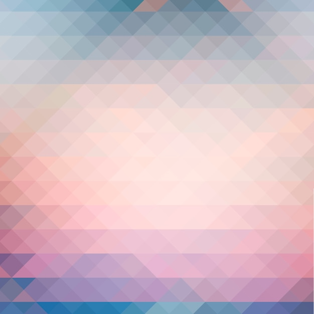 抽象的な三角形