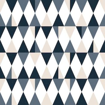 シームレスなモダンな三角形のパターン。