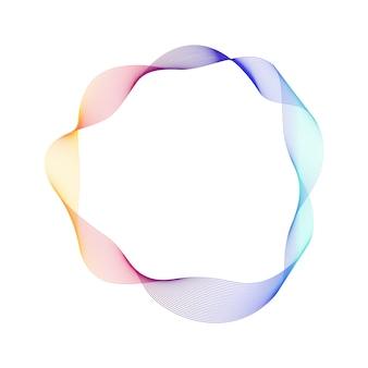 Вектор абстрактный современный графический элемент.