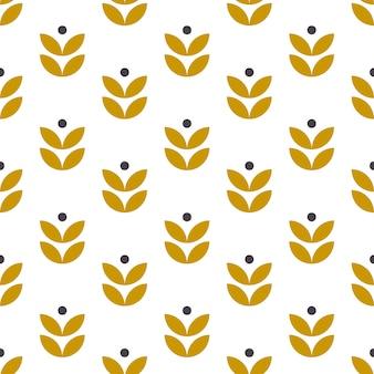 シンプルなシームレスな幾何学的な民芸品のパターン。