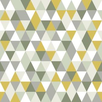 モダンな三角形のシームレスパターン。