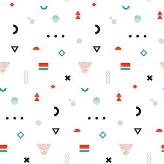 メンフィスシームレスパターン。