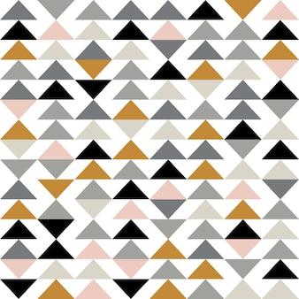 三角形とモダンな抽象的な幾何学的な背景