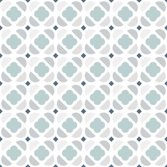 北欧スタイルの抽象的な幾何学的なシームレスパターン。