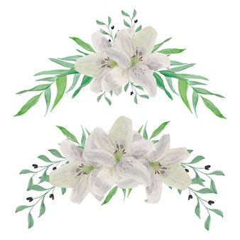 Винтажная лилия