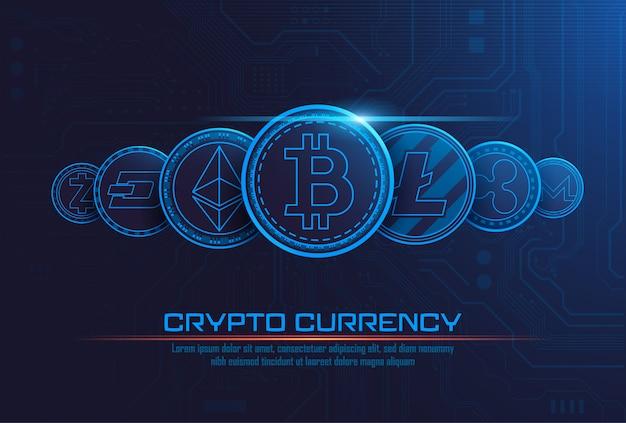 有名な暗号通貨
