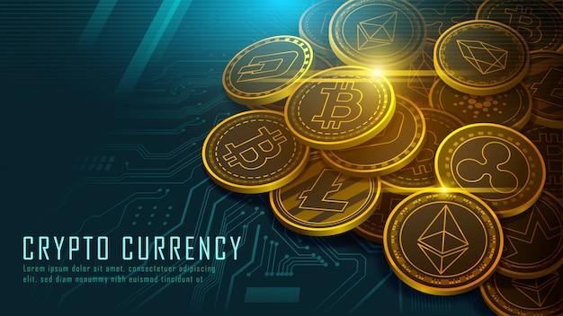 Десять знаменитых криптовалют