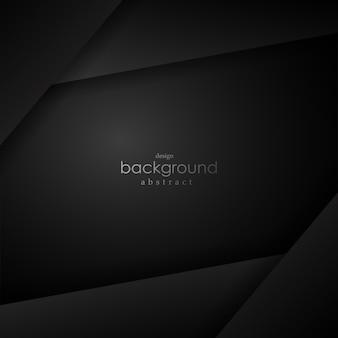 テキストのためのスペースを持つ黒のレイヤーの背景。