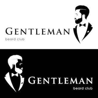 紳士のロゴタイプ