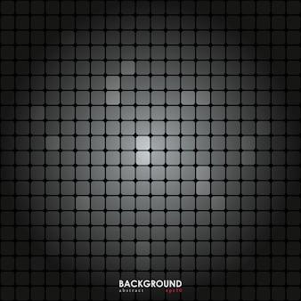 丸いグラデーションでベクトル灰色のタイル。