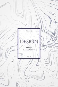 Мраморный дизайн шаблона для приглашения.