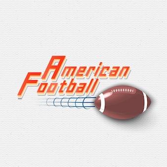 アメリカンフットボールのバッジロゴ