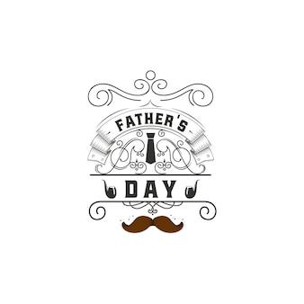 父の日バッジデザイン