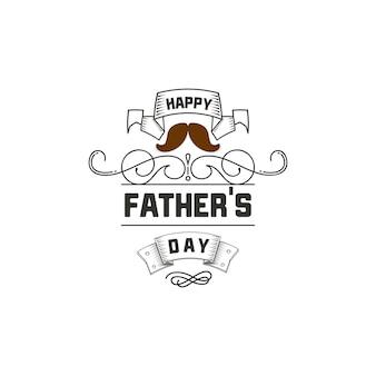 Дизайн значка дня отца