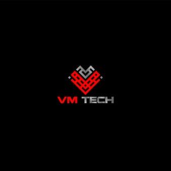 技術ロゴ現代コンピューターインターネット