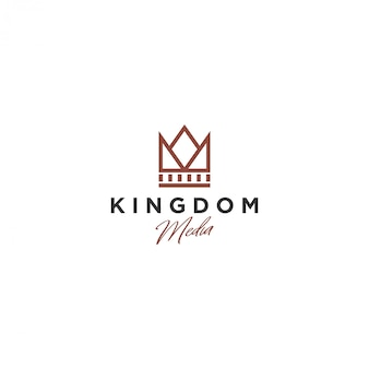 Корона логотип, королевство медиа