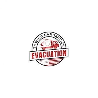 けん引車サービスのロゴ