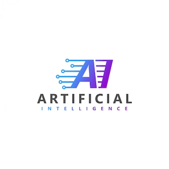 人工知能の最新技術のロゴ