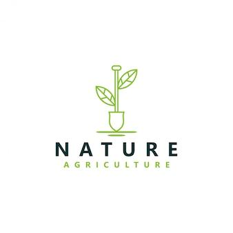 Логотип органического земледелия