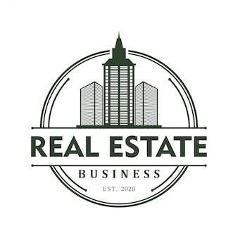 Логотип здания недвижимости