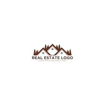 Логотип недвижимости - современный и простой дизайн