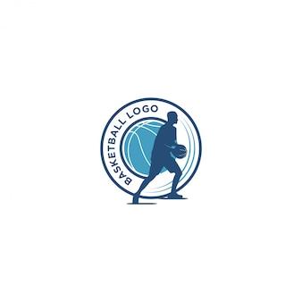 Баскетбольный спортивный логотип