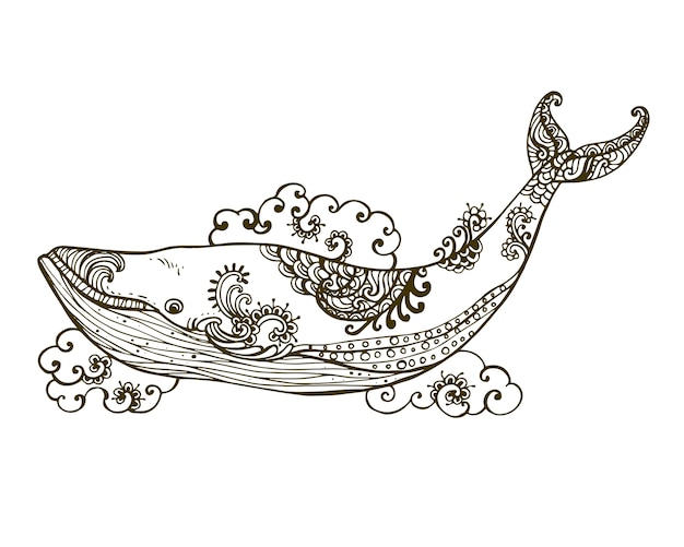 手描き装飾的な非常に詳細な抽象的な。