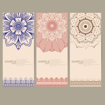 インドの花ペイズリー
