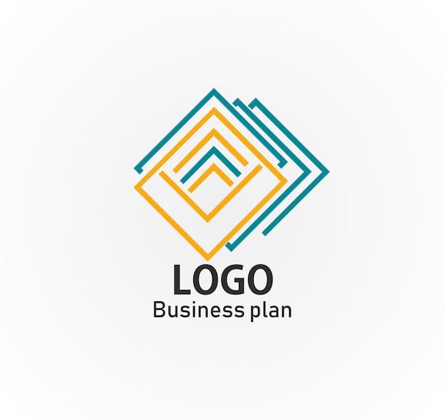 ロゴはよく見えるベクトルデザインのイラスト