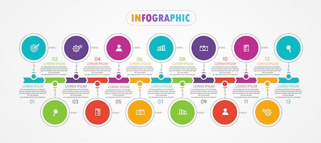 Бизнес и образовательные диаграммы следуют шагам, которые используются, чтобы представить презентацию вместе с исследованием.