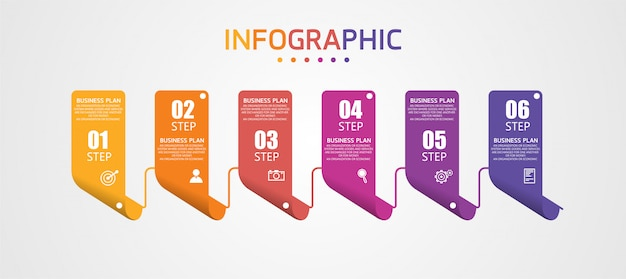 Инфографика может быть использована для процесса, презентаций, макета, баннера, информационного графа.