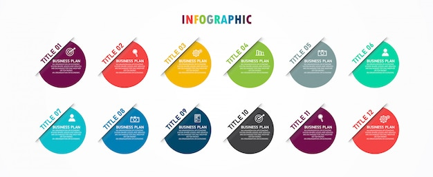 インフォグラフィックダッシュボード。教育でのビジネスに使用される材料特性、未来的な、ダッシュボード