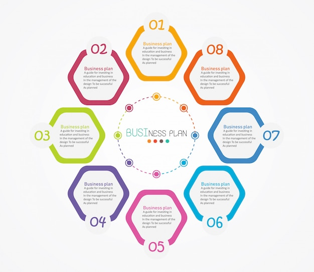 Схема, используемая в образовании и векторной иллюстрации дизайна