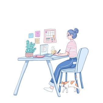 Работа из дома