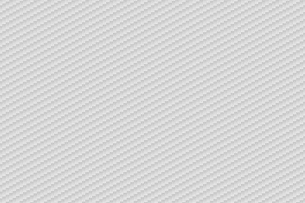 Вектор абстрактный белый фон из углеродного волокна