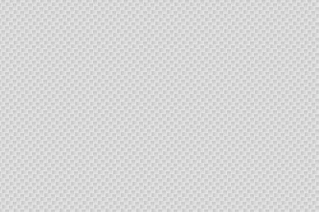 抽象的なホワイトカーボンファイバーのベクトルの背景