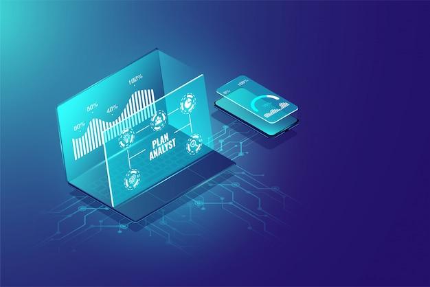 ビジネス分析システムの概念と管理マーケティング。