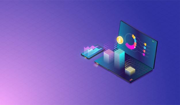 データ分析と投資の概念