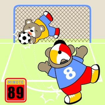サッカー漫画ベクトル