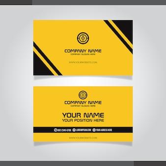 Абстрактные креативные визитки (набор шаблонов)